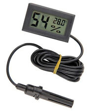 Mini Digital LCD Thermometer Hygrometer Humidity Temperature Meter Indoor UK