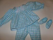 Pajama  Doll Clothes #7  /free Slippers  fits 18 in American Girl Doll