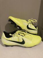 "Nike Phantom Venom Elite FG ""Volt"" AQ7540-717 Men's Size 8.5 ACC Soccer Cleats"