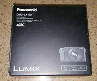 Panasonic Lumix DMC-LX100 Digital Camera 4K  (Black)  Fast Shipping