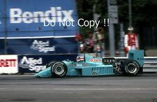 Ivan Capelli Leyton House March 871 Detroit Grand Prix 1987 Photograph 2