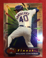 2017 TOPPS FINEST WILSON CONTRERAS CHICAGO CUBS BR-WC