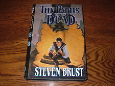 STEVEN BRUST THE PATHS OF THE DEAD 1ST RETAIL HARDBACK BOOK