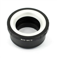 M42 Lens to Micro 4/3 M4/3 adapter For Olympus Panasonic Micro Four Thirds Mount