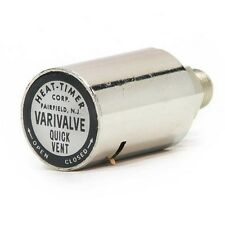 HEAT-TIMER Varivalve Adjustable Straight Mounting Radiator Vent Valve,