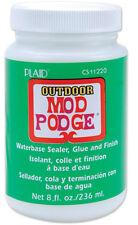 Plaid Mod Podge Outdoor 8floz Waterbase Sealer Glue and Finish Decoupage CS11220
