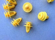 20x Verkleidung Clips Befestigungs Klips Halter universal Clip gelb 276