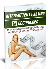 Intermittent Fasting Deciphered ( eB00k ) + 10 Additional Free eBooks ( PDF )