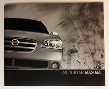 2002 Nissan Maxima Dealership Showroom Brochure - Must See !!