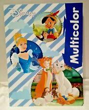 Pinocchio * Cinderella* Malbuch* Malheft * Multicolor * Disney * A4* Neu