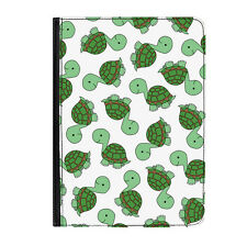 """Turtle Tortoise Animal Zoo Universal Tablet 9-10.1"""" Leather Flip Case Cover"""