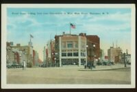 110520R BROAD STREET AT WEST MAIN STREET ROCHESTER NY VINTAGE POSTCARD
