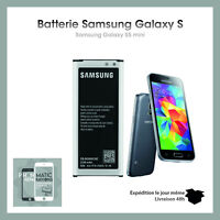 Batterie pour Samsung Galaxy S5 mini SM G800F 2100mAh EB BG800BBE BC794