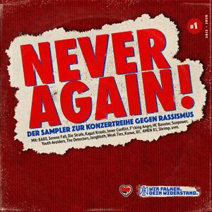 Never Again ! Der Sampler zur Konzertreihe gegen Rassismus #1 HOLIDAY SALE 2021