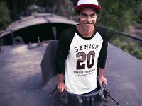 Men's Senior 2020 T Shirt Athletic Shirt Vintage Senior 2020 Shirts Graduating C