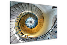 Abstract Spiral Staircase on Framed Canvas Art Prints Home Deco Wall Pictures