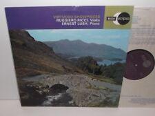 ECS 595 Ruggiero Ricci & Ernest Lush Virtuoso Showpieces (NO SXL)