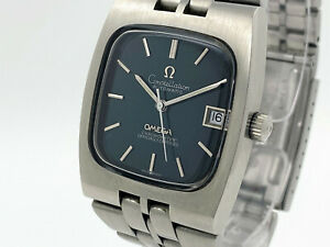 OMEGA Constellation Chronometer TV Shape Cal. 1012 Green Spider Dial (SO548)