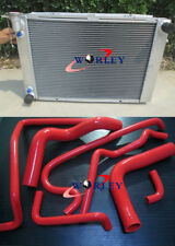 3 CORE Aluminum Radiator & HOSE For Holden V8 Commodore VG VL VN VP VR VS AT/MT