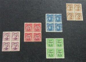 nystamps US Philippines Stamp # C36-C40 Mint OG H $41   L23x1140