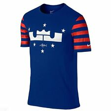 Nike Dri-Fit Lebron 4th of July Edition (Large Blue/Red/White) Shirt