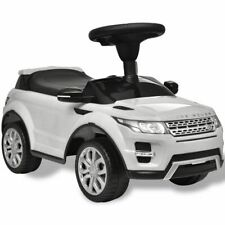 vidaXL Kids Ride-on Car with Music White Battery Powered Children Toy Car