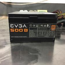 EVGA 500B B1 80 Plus Bronze 500W Power Supply 100-B1-0500