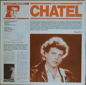 PHILIPPE CHATEL  33T LP
