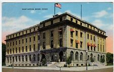 Antique BOISE POST OFFICE Idaho ID Postcard