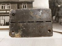 ➡➡WW2 GERMAN STALAG XVIIB BUCHENWALD USA POW DOGTAG AND PHOTCARDS Original WWII