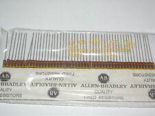 13M 1/2W RCR20G136JS Allen Bradley Carbon Composition Resistors  [QTY=50pcs]