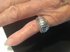 RING WOMAN JUDITH RIPKA STERLING SILVER Made in Thailand