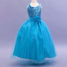 Robes de demoiselle d'honneur bleu sans manches