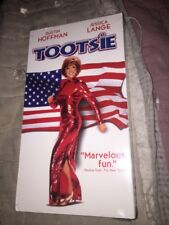 Tootsie (VHS, 1990) Dustin Hoffman Jessica Lange NEW SEALED