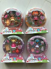 Lalaloopsy Mini Snowy, Bea Spells, Holly, Mittens Snow Globe Set NEW Series 10