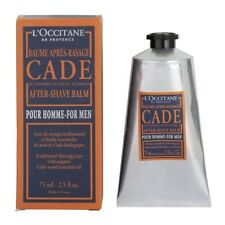 L'Occitane CADE AFTER SHAVE BALM 75ml:A light fluid balm with virile woody scent