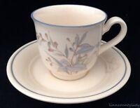 Vtg Noritake Keltcraft Kilkee Cup & Saucer Floral Butterfly 9109 Ireland FR SHP