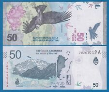 """Argentina 50 Pesos P New 2018 UNC Suffix """"A"""" Low Shipping! Combine FREE!"""