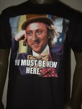 Men's Willy Wonka And The Chocolate Factory Gene Wilder You Must Be New T- Shirt