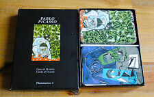 2 jeux de 54 cartes à jouer PABLO PICASSO (Flammarion 4) COMPLET