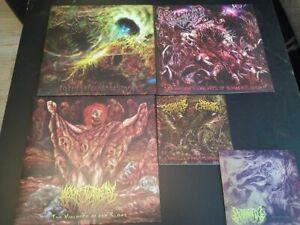 Slam Death Metal Vinyl LP/ EP Packet - Sammlung Traumatomy Epicardiectomy Pighea