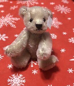 Miniature mohair Steiff Bear