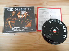 CD Punk Offspring - Defy You (4 Song) MCD COLUMBIA +Presskit / Orange County