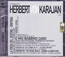 2 CD ♫ Audio Box Set HERBERT VON KARAJAN ~ IL MEGLIO ~ THE BEST nuovo