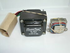 ClassicTone Tweed Champ Transformer Set, Power and Output transformer, USA made