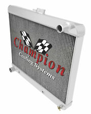 4 Row Performance Champion Radiator for 1963 1964 1965 Buick Riviera V8 Engine