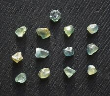 Lot Saphir bleu brut de Madagascar 18,7ct rough gemstones sapphire blue unheated