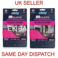 Chrome Free Postage /'PINK/' Microfibre Cloth 40cm x 40cm 300gsm 30 Pack NW