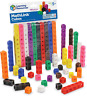 Learning Resources MathLink Cubes, Homeschool, Educational Counting Toy, Math Cu