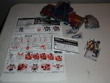 Transformers Leader Class: DA-28 Dark of the Moon Striker Optimus Prime MechTech